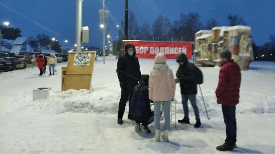 В Барнауле активисты собирают подписи против строительства корпуса АлтГУ