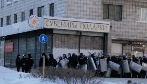 Тихий митинг в Барнауле собрал в разы меньше участников