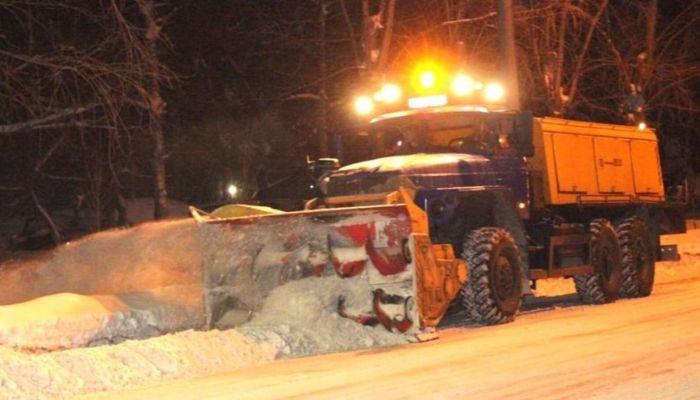 Барнаульские дорожники будут работать в усиленном режиме из-за штормпрогноза