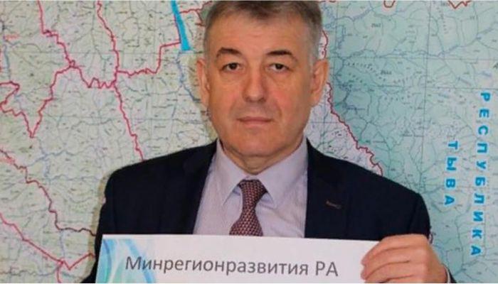На Алтае министр регионального развития уходит в отставку