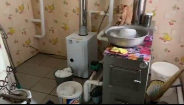 Жители алтайского села остались без воды из-за январских морозов