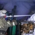 Семейная пара погибла при пожаре в алтайском райцентре