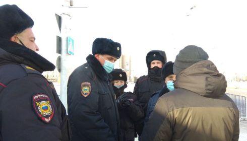 Участников незаконных митингов в Барнауле наказывают штрафами и работой