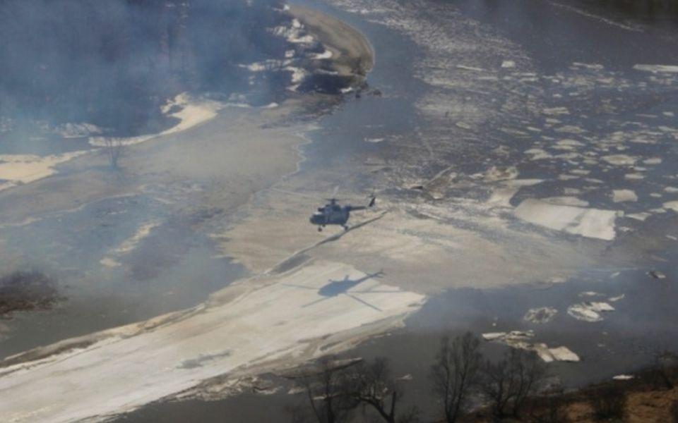 Уровень воды в Алее поднялся за ночь на 40 сантиметров