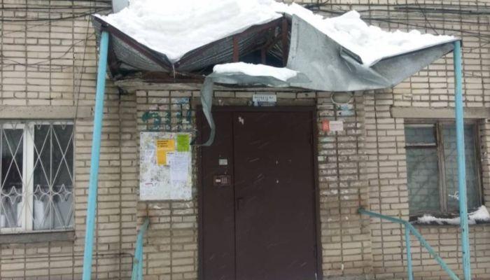 Барнаульцы разорвали WhatsApp сообщениями о снежных шапках на крышах