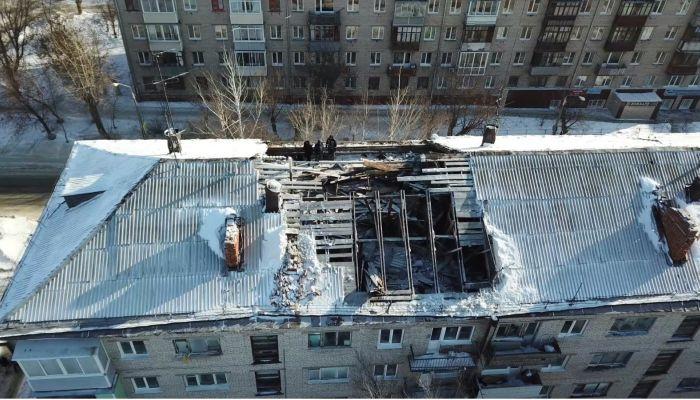 Снег на крышах Барнаула ищут с помощью беспилотников