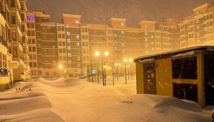 Прошедший в Москве снегопад может побить 65-летний рекорд