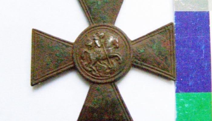 Жителя Алтайского края оштрафовали за покупку Георгиевского креста в Сети