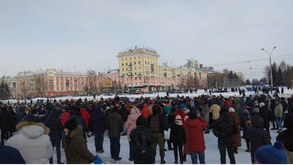 Митинг. Барнаул