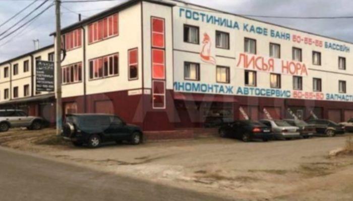 В Барнауле продают работающий комплекс с гостиницей и автосервисом