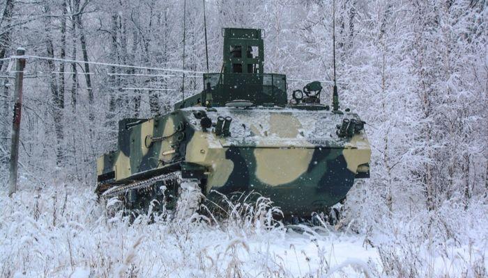 Россия впервые показала за рубежом модуль разведки и управления Барнаул-Т