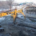 Мост на Челюскинцев в Барнауле гарантированно откроют раньше срока