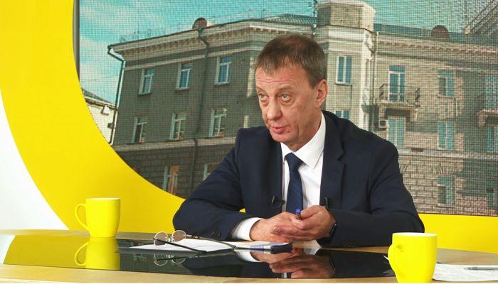 Глава Барнаула Вячеслав Франк ответил на вопросы журналистов СМГ
