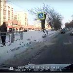 В Барнауле автобус переехал женщину-пешехода на зебре