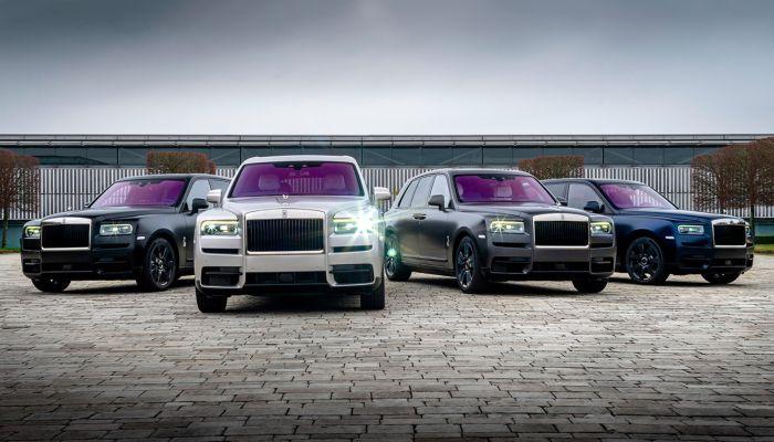 Rolls-Royce выпустил внедорожник, посвященный горам Алтая