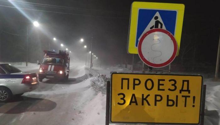 Пять трасс перекрыли в Алтайском крае из-за метели