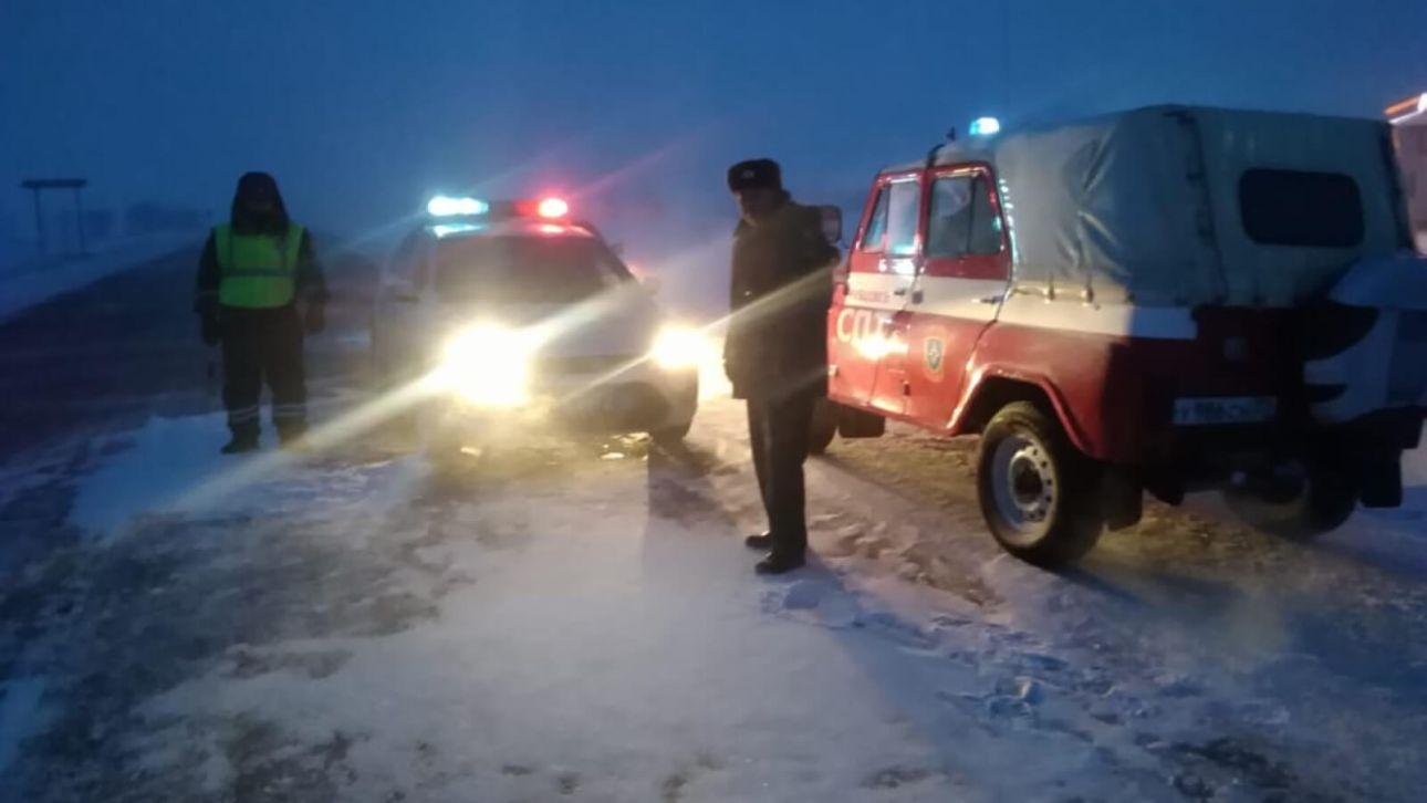 Две федеральные трассы в Алтайском крае закрыли для автобусов и грузовиков