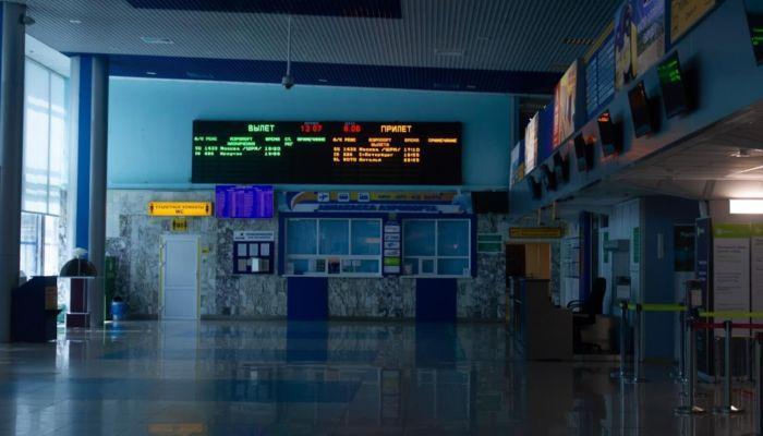 Пассажиропоток в аэропорту Барнаула упал до уровня 2009 года