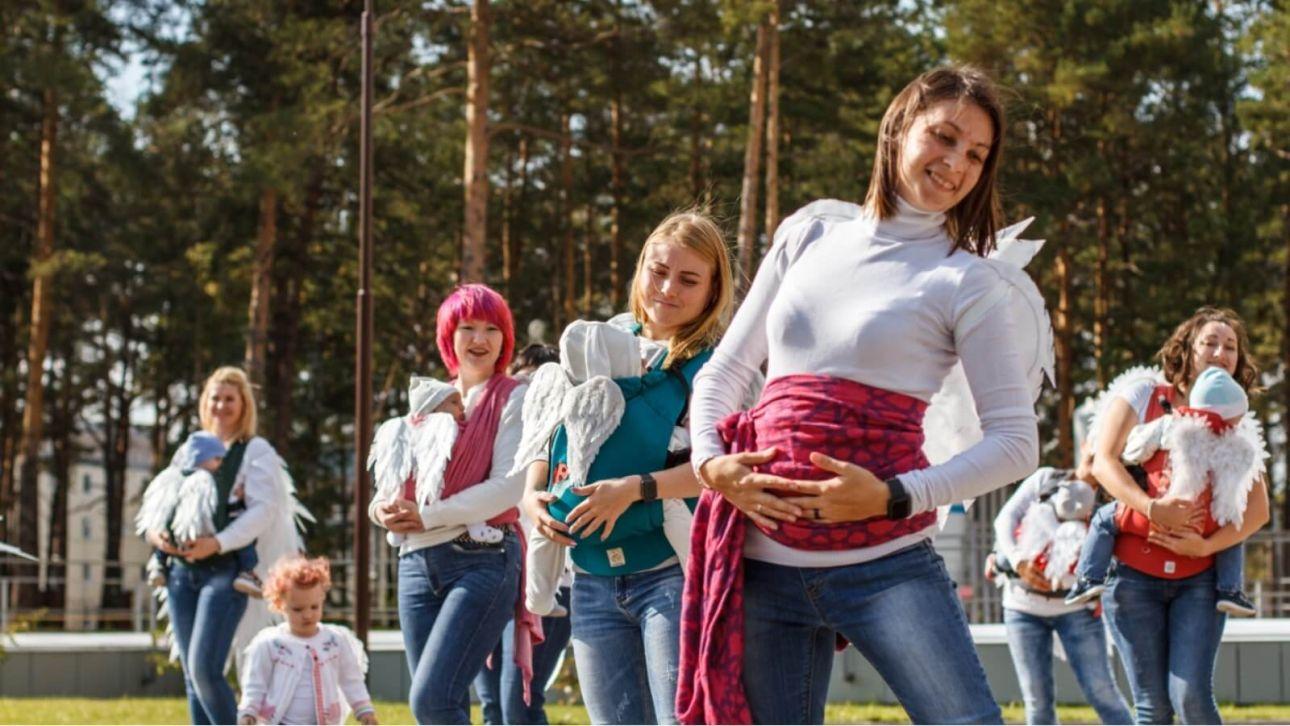 С малышом можно все. Как в Барнауле заработал особый фитнес-клуб для мам
