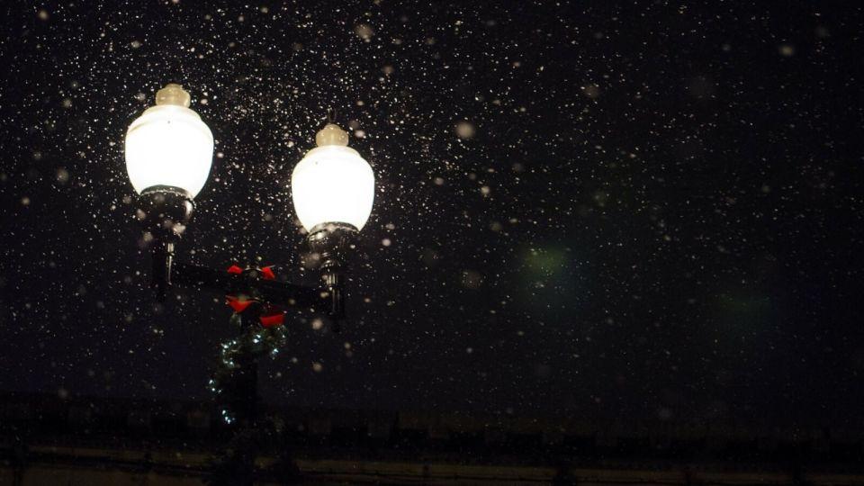 Фонари. Ночь