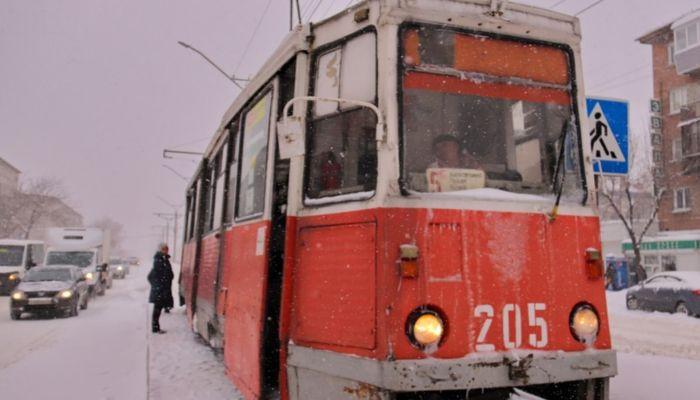 В Бийске за долги продают целый трамвайный комплекс