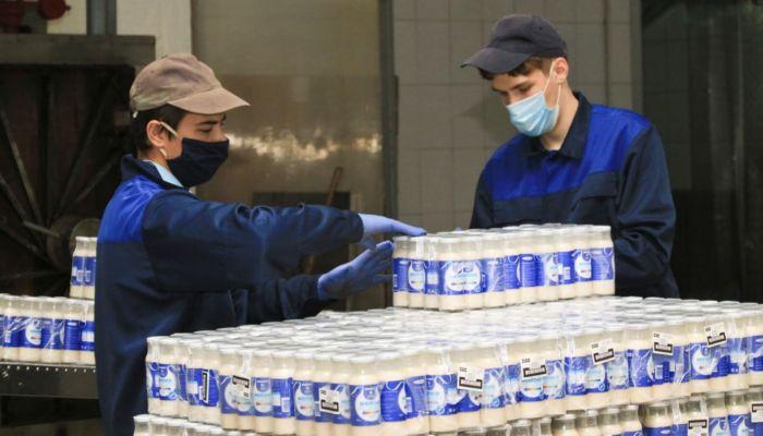 Шония выводит продукцию барнаульского молзавода Модест в Красноярск