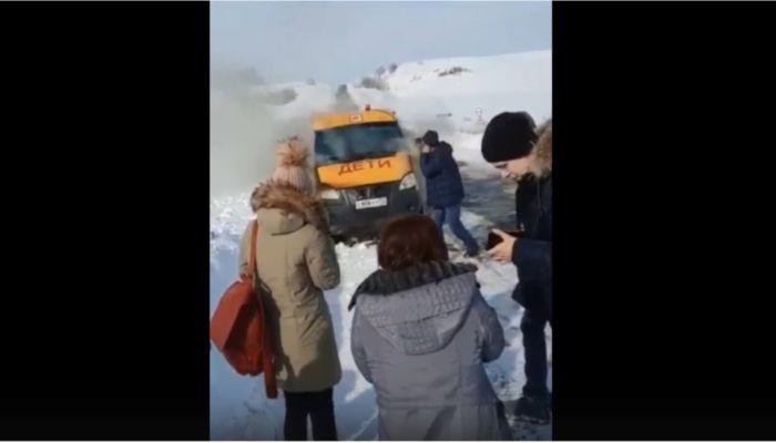 Прокуратура нашла нарушения в ГИБДД после ЧП со сгоревшим школьным автобусом