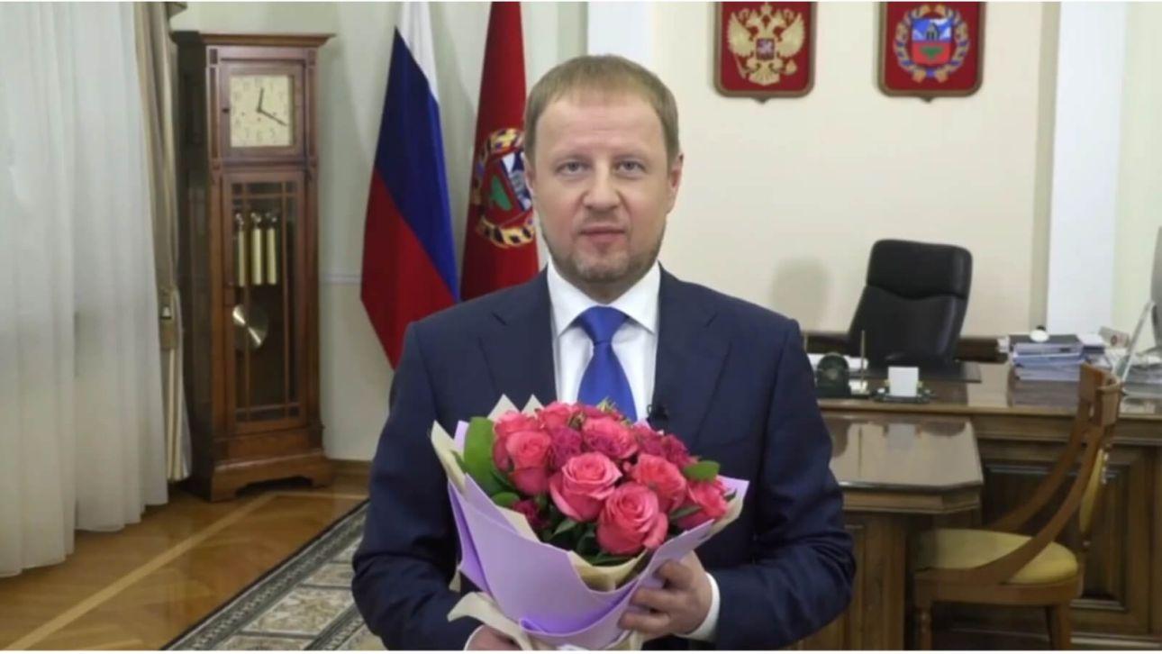 """""""Особый праздник"""": губернатор Томенко 8 марта рассказал о роли женщины"""