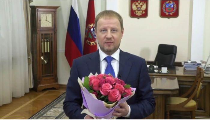 Особый праздник: губернатор Томенко 8 марта рассказал о роли женщины