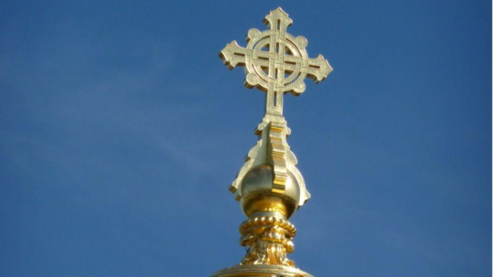 Храм. Крест. Церковь