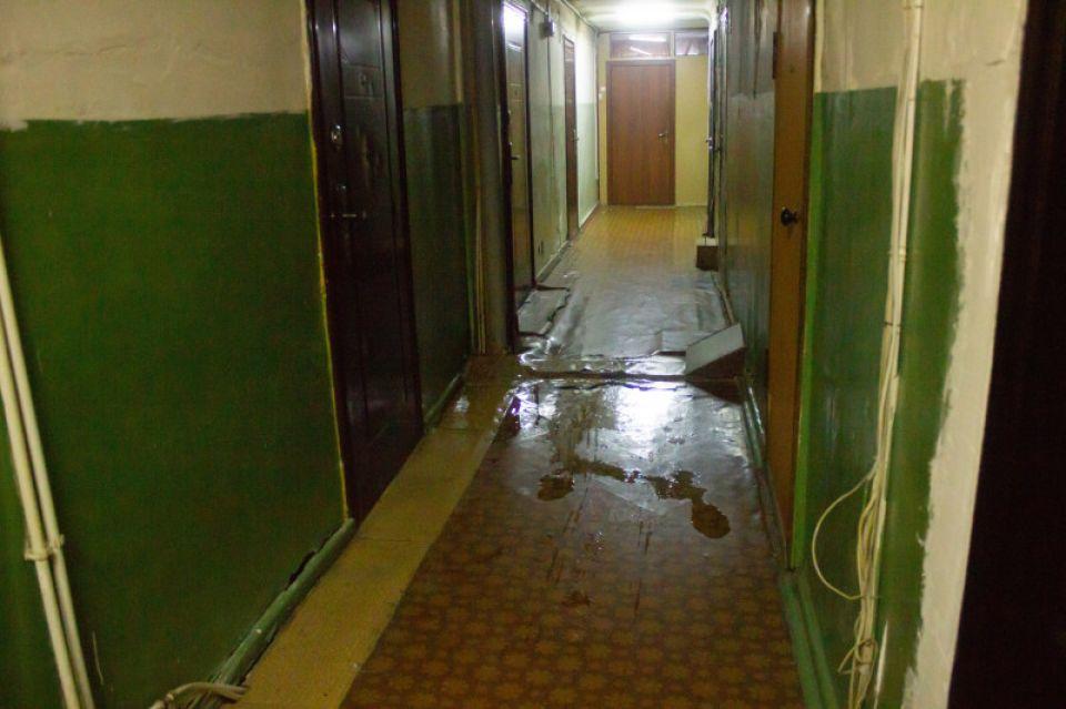 Жильцы бывшего барнаульского общежития жалуются на плохие условия в доме