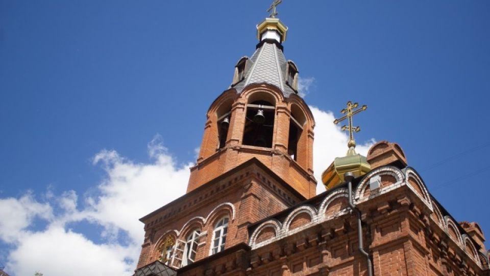 Церковь. Никольский храм