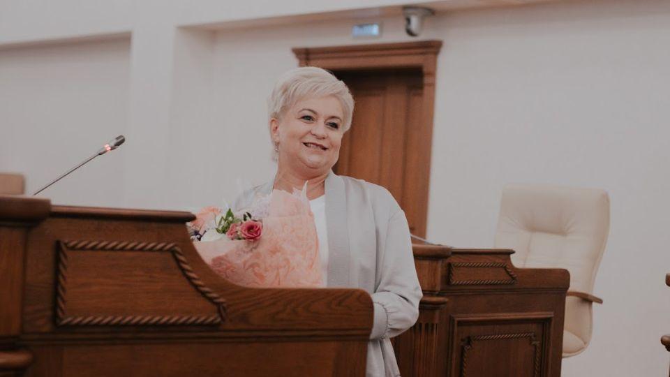 Глава алтайского избиркома Ирина Акимова