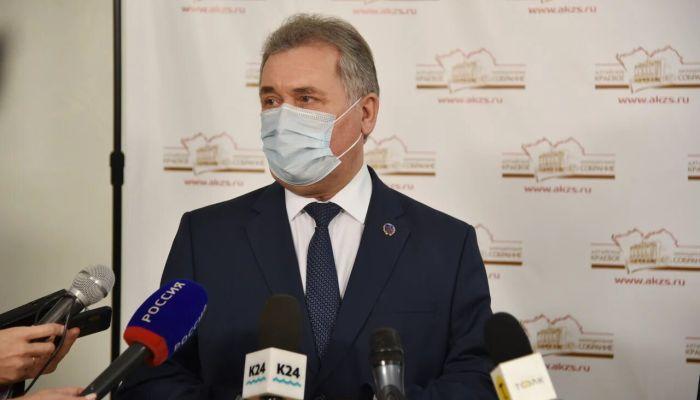 Спикер краевого парламента не собирается быть депутатом Госдумы или сенатором