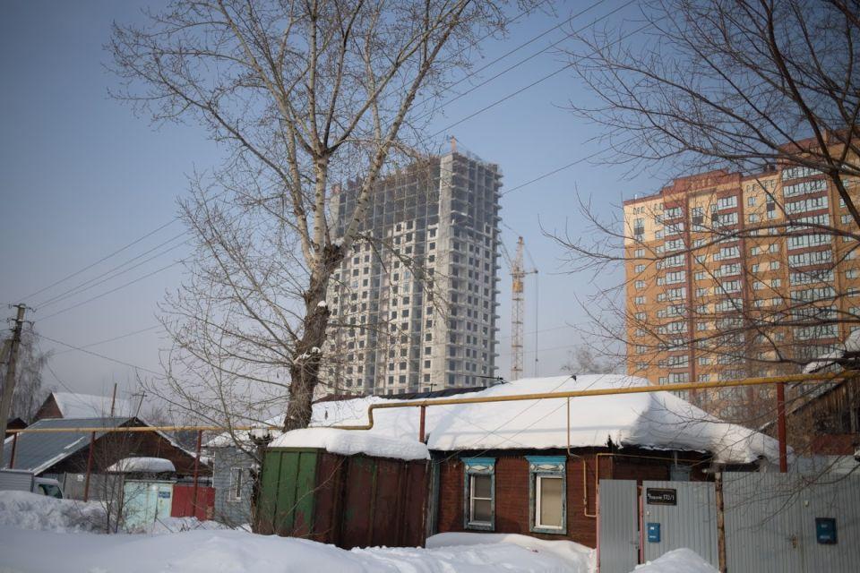 Микрорайон реновации в Барнауле. Ул. Ядринцева