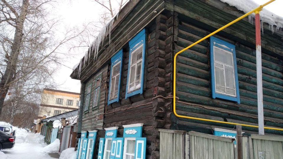 Сосульки в Барнауле