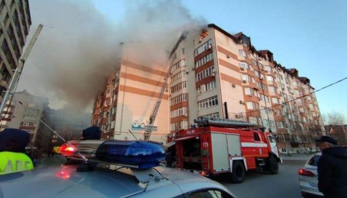300 человек эвакуированы в Анапе из-за крупного пожара