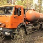 Нелегалы заливают жидкими нечистотами леса в окрестностях Барнаула