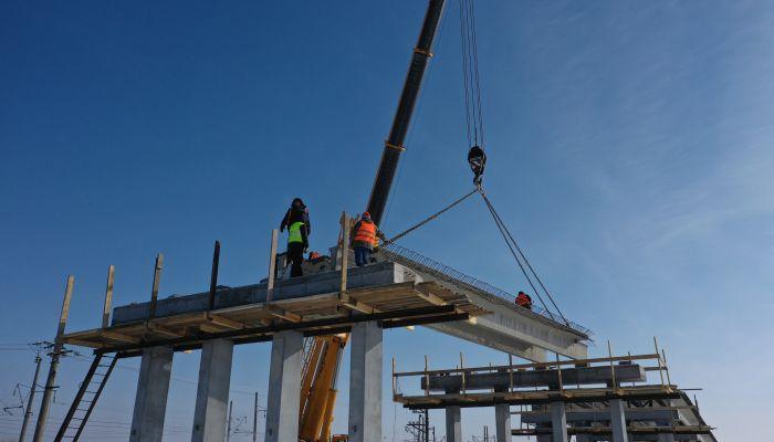 Дорожники показали фото эпичного ремонта Старого моста в Барнауле