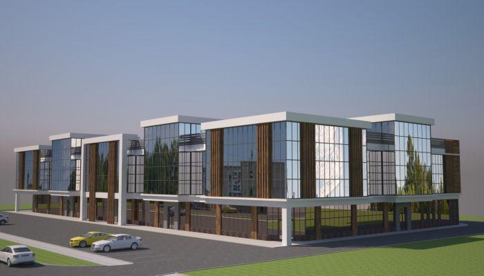 Новый бизнес-центр появится возле строящейся поликлиники в Барнауле