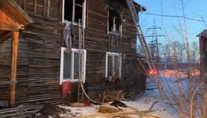 Четверо детей погибли при пожаре в Красноярском крае