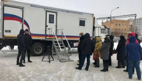 В Барнауле запустили третий мобильный пункт вакцинации от COVID-19