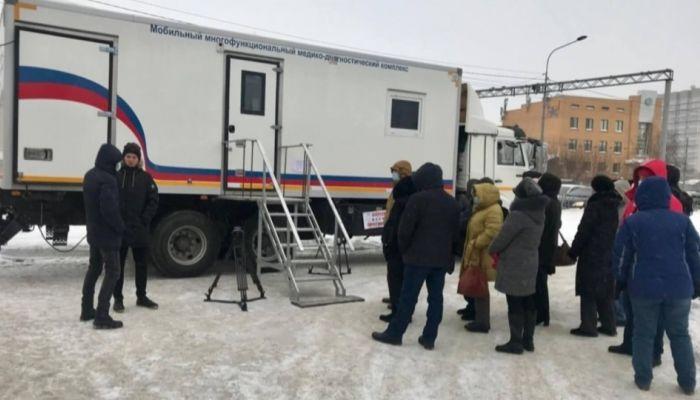 В Барнауле приостановили вакцинацию во всех мобильных пунктах