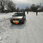 В Алтайском крае женщина-пешеход угодила в два ДТП подряд