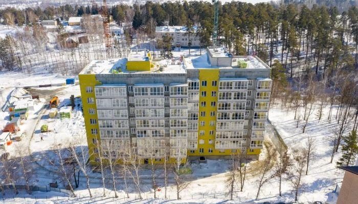 Строительство жилого комплекса Барнаульский лес вышло на финишную прямую