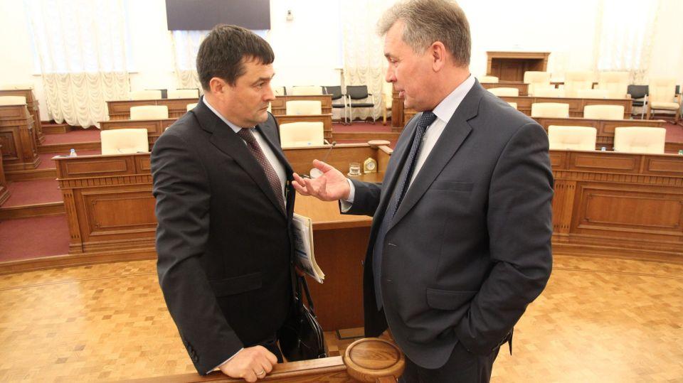 Владимир Семенов (слева) и Александр Романенко