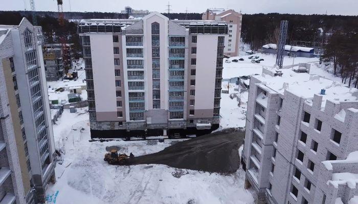 Барнаулкапстрой возобновил строительные работы в  ЖК Парковый на Горе