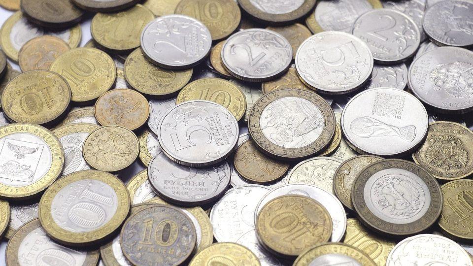 Монеты. Рубли