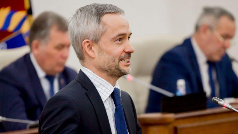 Алексей Перфильев, министр спорта Фото:Виталий Барабаш