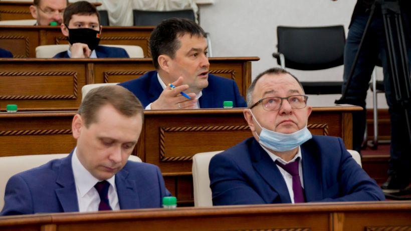 Депутаты АКЗС. Сессия Фото:Виталий Барабаш
